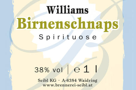 Williamsbirnenschnaps-