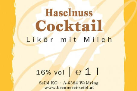 Haselnuss-Cocktail